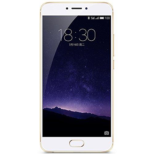 Meizu MX6 Unlocked Smart Phone, 4GB+32GB, International Version, (Champaign Gold)