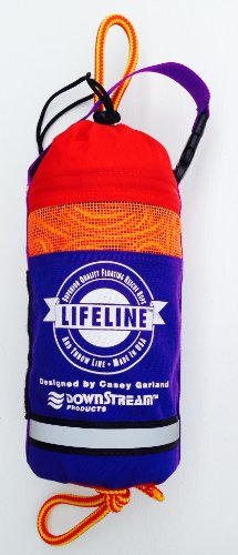 Rescue Throw Line (LIFELINE Water Rescue Throw Bag 65' x 5/ 16