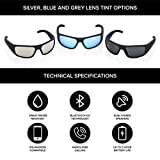 Inventiv Sport Wireless Bluetooth Audio Sunglasses, Open Ear Headphones Music & Hands-Free Calling, for Men & Women, Polarized Glasses Lenses