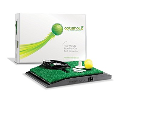 Optishot 2 Players Bundle | Includes Optishot 2, Extra Replacement Turf, and 18 Callaway Practice Balls (Mac & PC Compatible) by Optishot (Image #1)
