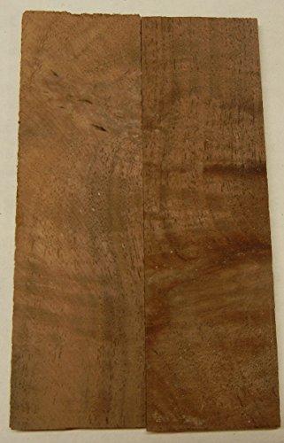 Walnut Claro Figured (2 pc) Knife Scales 3/16