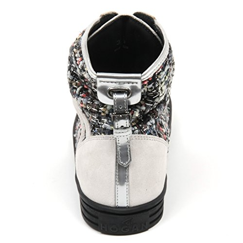 Grigio woman beige Beige sneaker C8384 R182 scarpa donna grigio cinturino HOGAN shoe REBEL 7wnApqR
