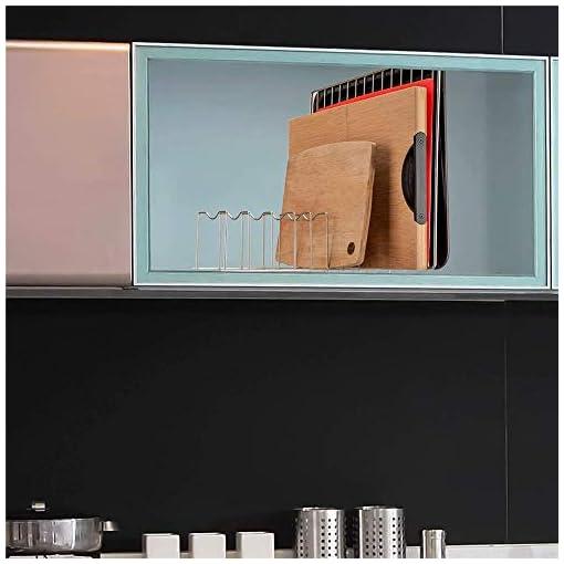 Kitchen blitzlabs Pan Organizer Pot Lid Organizer Lid and Pot Organizer Plate Holder for Kitchen Organizer for Plates, Cutting… pot lid holders