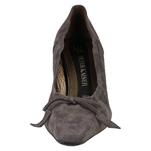 Slip Scarpe Ladies grigio Court Peter On Kaiser Meriel Stahl URqBaw