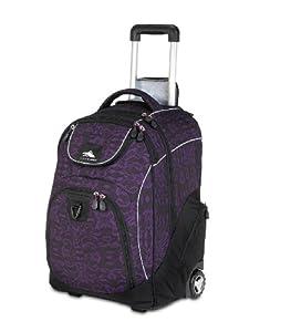 High Sierra Powerglide Wheeled Book Bag Backpack by High Sierra