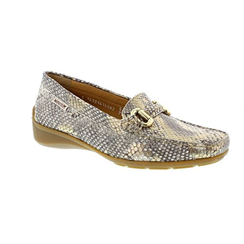 MEPHISTO Women's Natala Ceylan Leather Loafer Slip On Shoe (N103) Gold AWWn9zD