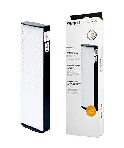(Whirlpool 1183800 - Genuine True HEPA Filter Replacement - Fit Air Purifier Portable Tower WPT80 - Large)