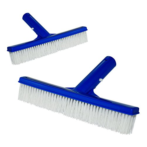 iGoods 2 Pack Pool Cleaning Brush Heavy Duty 10