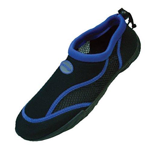 78c6abeab0e9 Rockin Footwear Men s Aqua Stripes Rubber Water Shoe MAQ5 Blue 11 - Buy  Online in Oman.