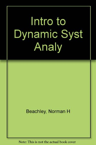 Introduction to Dynamic System Analysis