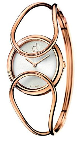 Calvin Klein K4C2M616 Watch Inclined Ladies - Silver Dial Stainless Steel Case Swiss Movement