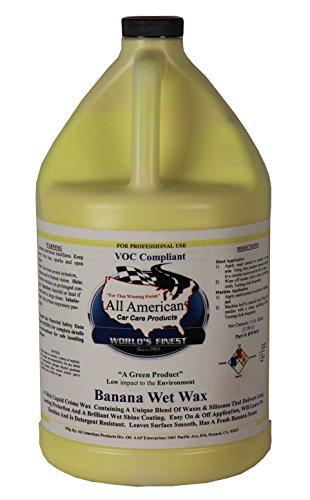 Banana Wax - All American Car Care Products Banana Wet Wax (1 Gallon)