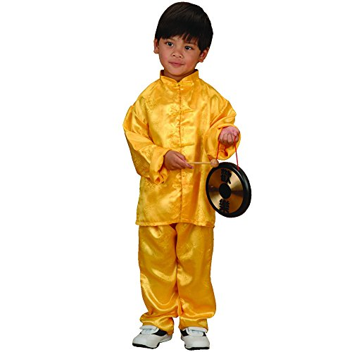 Ethnic Chinese Costume (Chinese Boy Kids Costume - Fits Most Children Ages 3-6)