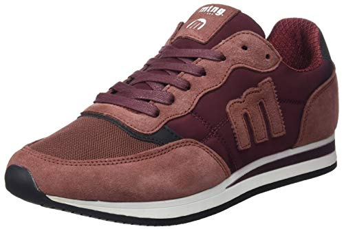 84086 MTNG C42878 Basses Nilonka Rouge Burdeos Sneakers Suede Burdeos Homme rrqBd