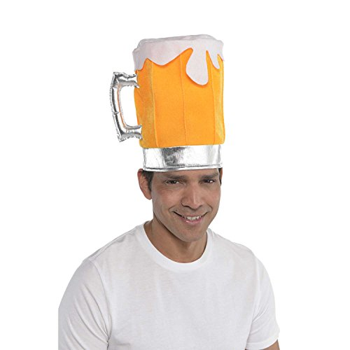amscan Beer Hat Party Supplies, 8 1/2