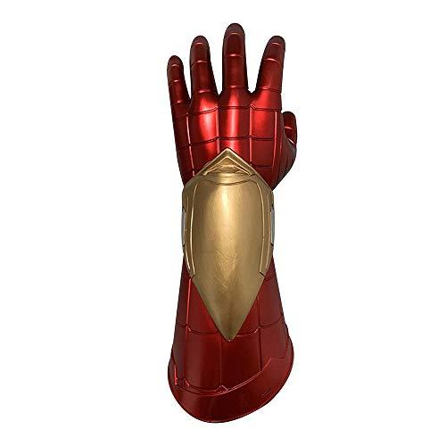 Spiderman Gloves led Light PVC red Costume 3D