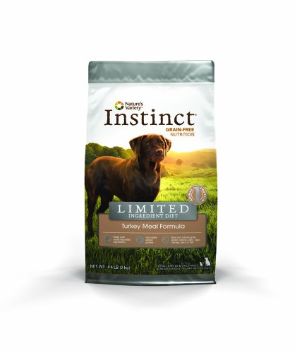 Instinct Limited Ingredient Diet Grain Free Turkey Meal Formula Natural Dry Dog Food By Nature'S Variety, 4.4 Lb. Bag