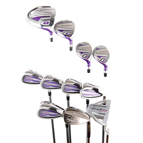 Tommy Armour Silver Scot Ladies Complete Set Driver 3W 4H 5H 6-PW,SW + Putter Silver Scot