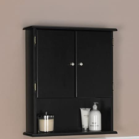 Ameriwood Bathroom Wall Cabinet Amazoncouk Kitchen Home