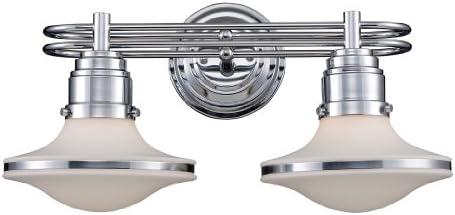 Elk 17051 2 Retrospective 2-Light Bath Bar in Polished Chrome