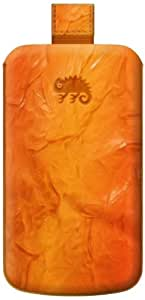 KATINKAS 2108047030 Special Effect Leather Case for Sony Ericsson Xperia Ray - 1 Pack - Retail Packaging - Orange