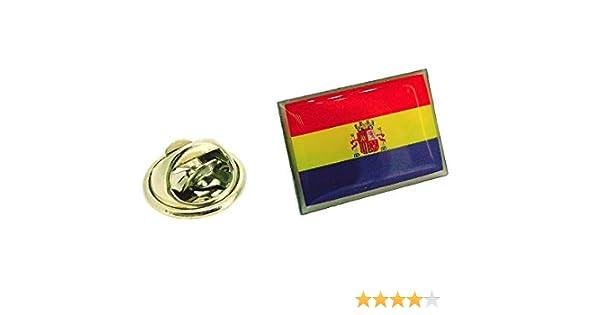 Pin de Solapa de la Bandera de la II República Española: Amazon.es ...