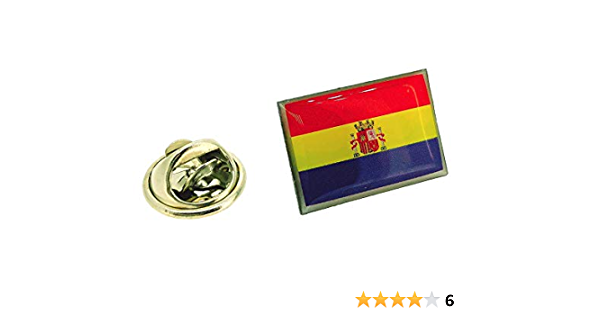 Pin de Solapa de la Bandera de la II República Española: Amazon.es: Ropa y accesorios