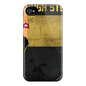 Scratch Resistant Hard Cell-phone Case For Iphone 6 (EGz4128oUgW) Support Personal Customs High Resolution Pittsburgh Steelers Skin