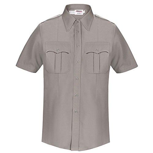 - Elbeco Classic DutyMaxx Female Short Sleeve Shirt, Gray (42)