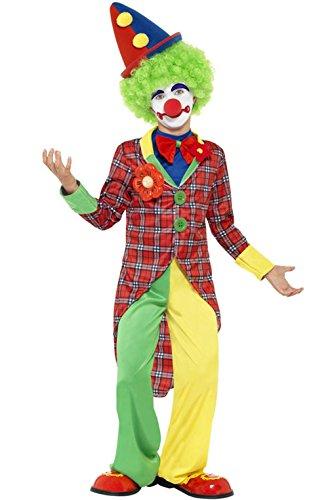 Mememall Fashion Auguste Funny Circus Clown Child Costume