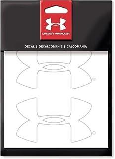 amazon com under armour logo black on clear logo vinyl decal
