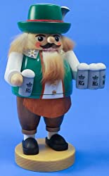 Richard Glaesser Irish Green Bartender Nutcracker Made in Germany