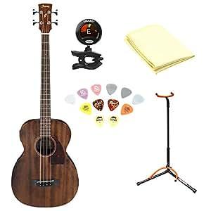 ibanez pcbe12mh grand concert acoustic electric bass guitar open pore mahogany top. Black Bedroom Furniture Sets. Home Design Ideas