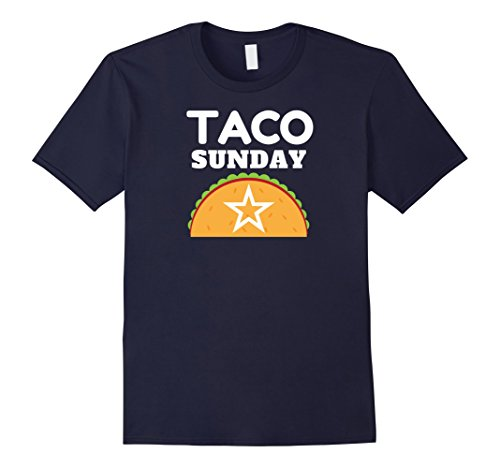 Mens Taco Sunday Star Shirt 3XL Navy
