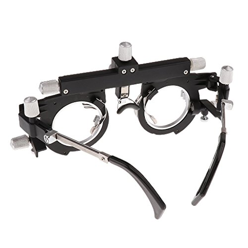 Dhoptical Optical Optic Trial Lens Frame Eye Optometry Optician/Easily Changeable Cylinder Axis, Fully Adjustable Temple Length and Nose Rest glasses shop use by Dhoptical (Image #2)
