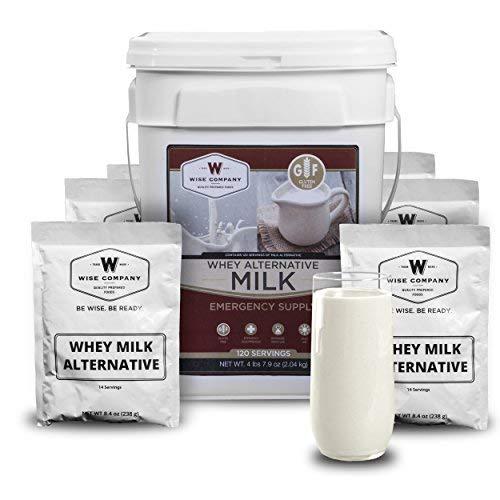(Wise Company Emergency Food Supply, Whey Milk Alternative, 20-Year Shelf Life, 120 Servings)