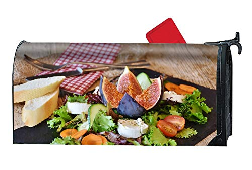 Calibre Life Cheese Lettuce Figs Tomatoes Magnetic Mailbox Cover - 9