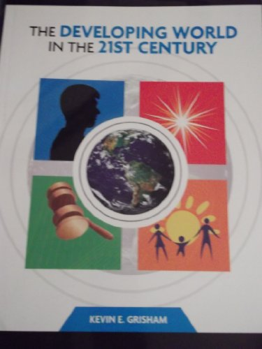 The Developing World in the 21st Century