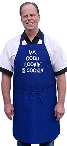 Price comparison product image Mr. Good Lookin' Is Cookin' Funny Aprons For Men