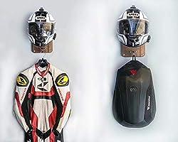 Soporte para casco y perchero de pared - VT-01 Helmet Hanger ...