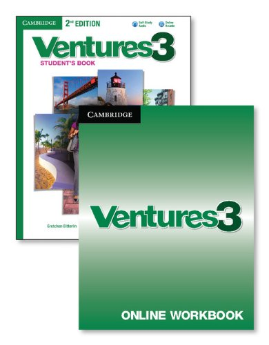 Ventures Level 3 Digital Value Pack (Student's Book with Audio CD and Online Workbook)
