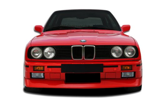 Duraflex Replacement for 1984-1991 BMW 3 Series E30 2DR 4DR Evo Look Front Bumper Cover - 1 Piece ()