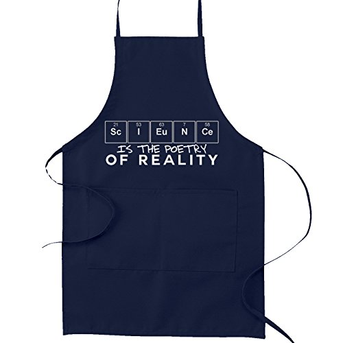y of Reality Kitchen Apron - [Navy Blue] ()