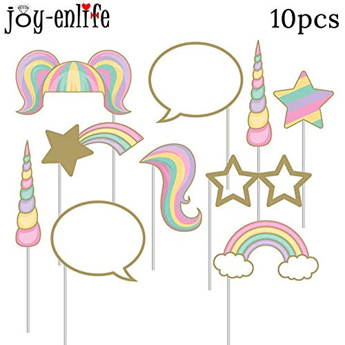 1Set Pink Unicorn Theme Party Desechable Vajilla Cumpleaños ...