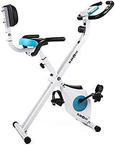 Klarfit Azura Pro Shape Edition - Bicicleta estática, Monitor de ...
