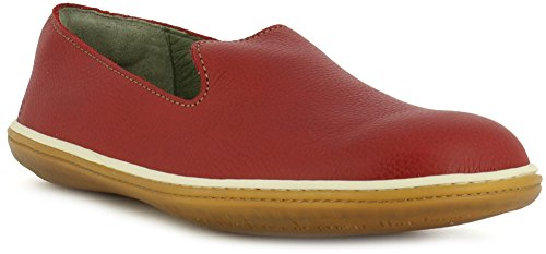 NE08 Soft Grain Tibet/EL Viajero Rouge Femme Chaussures Rouge F44QApa