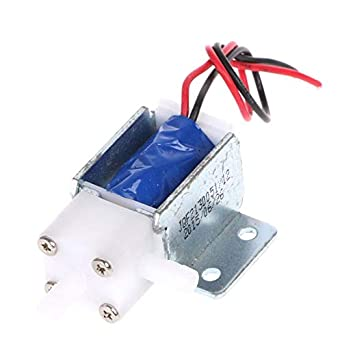 Normally Closed Type DC 12V Electronic Control Solenoid Discouraged Air Valve