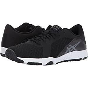 ASICS Women's Defiance X Cross-Trainer-Shoes, Black/Carbon/White, 8.5 Medium US