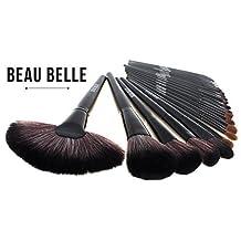 Beau Belle Makeup Brushes - makeup brushes - make up brushes set - makeup brush set - professional makeup brush set - professional make up brush set - makeup brush set with case