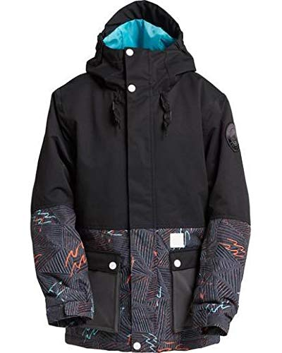 Billabong Big Fifty 50 Boys Insulated Snow Jacket, Black, XL ()